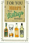 Various Male / Men Birthday Cards - Drink Themed - NEW