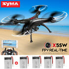 FPV Real -Time Wifi Camera RC Quadcopter Drone Syma X5SW Headless Helicopter