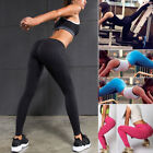 Women Hot High Waist Yoga Fitness Leggings Pants Gym Running Stretch Trousers JF