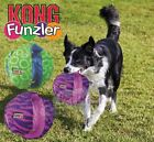 Kong Funzler - Dog Puppy Squeaky Soft Toss Fetch Tug Toy - With 6 Squeakers!