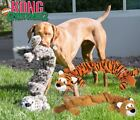 Kong Stretchezz Jumbo XL - Interactive Dog Puppy Crinkle Squeaky Tug Fetch Toy
