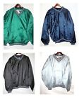LOT 10 Men's Pullover Wind Breaker WindShirt Sport Baseball Golf Green Medium