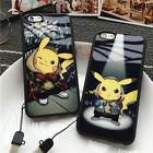 pokemon iphone 5s - USA Ultrathin Cartoon Pokemon Pikachu Soft Phone Case For iPhone 5 6 6s plus