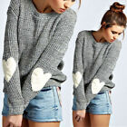 Casual Women Long Sleeve Knitted Sweater Loose Solid Cardigan Tops Outwear Coat