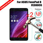 2Pcs Genuine HD Tempered Glass Screen Protector For Various ASUS ZenPad Tablet