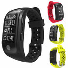 S908 Waterproof GPS Smartband Heart Rate Sleep Monitor Pedometer for IOS Android