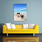 PERSONALISED PHOTO ON CANVAS. PORTRAIT SIZES. HIGH QUALITY PRINT, FRAME, GIFT