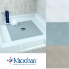 Large Non-Slip Rubber Shower Mat with Microban: SlipX Solutions Square Stall Mat