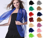 Sheer Scarf Shawl Wrap Chiffon