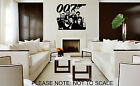 JAMES BOND, ALL 6 FROM 1962 TO 2012 - WALL STICKER - VINYL WALL ART £16.99 GBP on eBay