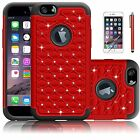 Bling Luxury Crystal Rubber Protective Hard Case Cover For Apple iPhone Models