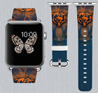 Chicago Bears Apple Watch Band 38 40 42 44 mm IWatch PU Leather Strap 176 on eBay