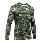 Under Armour UA TECH™ Tag Logo Ridge Reaper® Forest Camo Long Sleeve T-Shirt