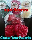 Wax Tart Melts 8 oz 8 pc Rose Shape Candles 250 Scents - Pick Your Favorite