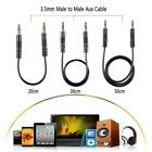 Universal 20CM/30CM/50CM Male to Male M/M Stereo 3.5mm Audio Aux Cable