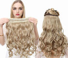 Thick Full Queen  One Piece 5 Clip In Body Wave Remy Human Hair Extension 100g