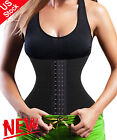 US Women Waist Trainer Body Shaper For Weight Loss Training Belt Corset Cincher