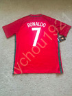 Cristiano Ronaldo Portugal National Soccer Team Real Madrid Jersey NWT