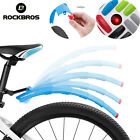 ROCKBROS Telescopic Bicycle Fenders Folding MTB Front Rear Taillight Mudguards