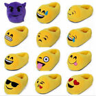 New unisex Emoji Shoes Warm Winter Indoor Slippers Plush cotton home shoes