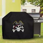 BBQ grill Cover custom Personalized ​Waterproof outdoor indoor Pirate Skull