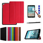 Folding Leather Stand Cover Case + Screen Protector For LG G pad f 8.0 V495 V490