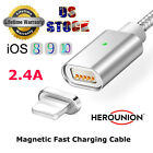 2.4a Magnetic Micro Usb Type C Charger Charging Cable For Iphone 6 6s 7 Plus Lot