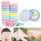 50pcs Wash Drying Travel Camping Compressed Face Magic Bath Towels Disposable