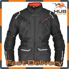 Oxford Mondial 1.0 Waterproof Motorcycle Motorbike Touring Jacket - Tech Black