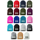 SOFTBALL DAD Embroidered Sports Parents Cuffed Cap, Many Styles