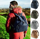 Vintage Retro Canvas Backpack Rucksack - School Hiking Travel Work Commute Bag
