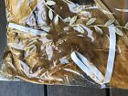 Baby Girl Infant Gold White Feather ANGEL WING Photography leaf headband PROP