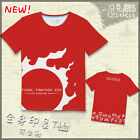Final Fantasy XIV FF14 White Mage hinsei Eoruzea Logo T-SHIRT Top Cosplay