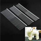 Stainless Steel Pet Beauty Hair Comb Handle Dogs Cats Comb For Pets Hair Make up