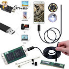 1/1.5/2/3.5/5M Android Endoscope Inspection USB Borescope LED Tube Camera Scope