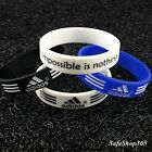 Wristband Adidas Baller Bands 3D Sport Silicone Bracelet Impossible is nothing