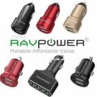New High Premium USB Car Charger RAVPower iSmart 2-4 Port Ul