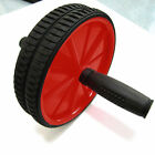 AB ABDOMINAL EXERCISE WHEEL GYM FITNESS ROLLER WITH FREE KNEE PAD TRAINING STREN