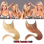 Invisible  Wire Secret In Extensions One Piece 100% Human Hair Remy Extension