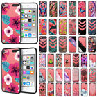 For Apple iPod Touch 5 5th/ 6 6th/ 7 Gen 2019 Black Clear Bumper TPU Case Cover