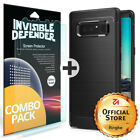 For Samsung Galaxy Note 8 Ringke [ONYX] Brushed Metal Design TPU Back Case Cover