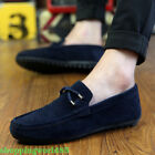 FASHION Mens Loafers Slip On Shoes Casual Lazy Flats Shoes Comfortable Loafers