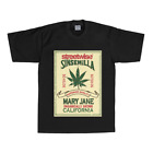 StreetWise Sinsemilla T-Shirt T Shirts Black New West Coast Los Angeles Weed
