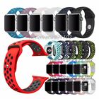 Silicona Deporte Reemplaza Banda Sport Band para Apple Watch 38mm 42mm Strap
