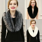 Usa Fashion Women's Winter Warm Fur Collar Scarf Collar Wrap Stole Scarves Shawl