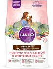 Halo Holistic Healthy Weight Dry Cat Food For Indoor Cats, Grain Free Wild And