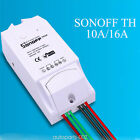 Sonoff TH10/16A Temperature and humidity Monitoring WIFI Romote Smart Switch UK