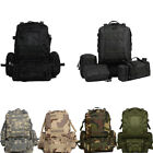 55L Outdoor Military Tactical Molle Bag Camping Hiking Trekking Travel Backpack