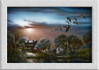 Terry Redlin LAZY_AFTERNOON HD Art printed on canvas home decoration painting