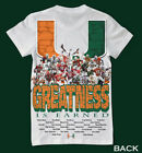 Miami Hurricanes shirt - 30 players on shirt 1 of a kind not found in stores UM